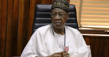 LAI MOHAMMED SAYS 'NO GOING BACK' ON WATER RESOURCES BILL 2020 DESPITE UPROAR.