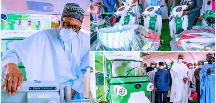 BUHARI LAUNCHES 'PRESIDENTIAL YOUTH EMPOWERMENT SCHEME'(P-YES)