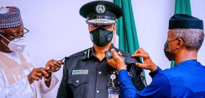 VP OSINBAJO DECORATES NEW IGP